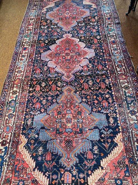 Antique Zagheh Persian Runner Handwoven
